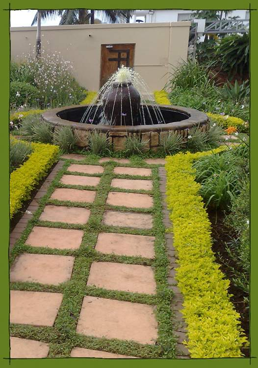 Earth landscapes inspired unique south african gardens for Garden designs in south africa